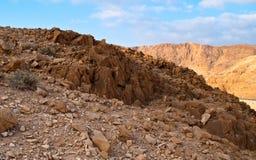 Colinas del mar muerto Fotografía de archivo