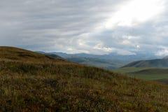 Colinas del otoño de Altai Siberia occidental Rusia imágenes de archivo libres de regalías