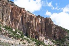 Colinas del Pamirs en Tayikistán Foto de archivo libre de regalías