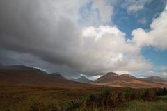 Colinas en Escocia Imagen de archivo libre de regalías