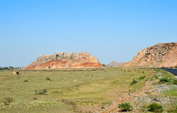 colinas la India del countgryside Imagen de archivo