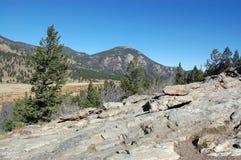 Colinas septentrionales de Colorado de Rocky Mountains Imagenes de archivo