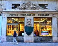 Colinas típicas cerca de Génova, Italia imágenes de archivo libres de regalías