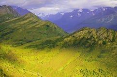 Colinas y valles Imágenes de archivo libres de regalías