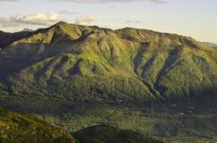 Colinas y valles antiguos Imagen de archivo