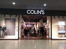 Colins sklep Zdjęcie Royalty Free