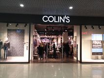 Colins store Royalty Free Stock Photo
