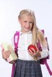 Écolière heureuse Photos stock
