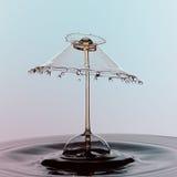 Colisão da gota da água Imagem de Stock Royalty Free