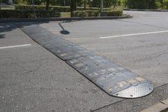 Colisão de velocidade na rua da cidade Imagens de Stock