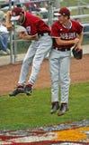 Colisão sênior de maine da série de mundo do basebol da liga Foto de Stock Royalty Free