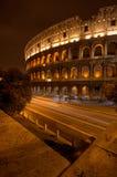 Colisé de Rome par nuit Photographie stock