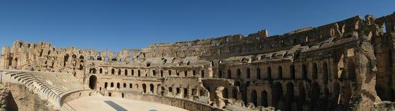 Colisée El Jem, Tunisie. Colisée Romain d'El Jem en Tunisie Royalty Free Stock Images
