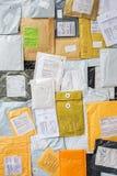 Colis de courrier Photographie stock