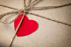 Colis de jour de Valentines Photos stock