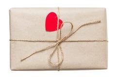 Colis de jour de Valentines image libre de droits