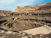 Coliseo de Roma, intérieur Image stock