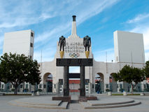 Coliseo del monumento de Los Ángeles Foto de archivo