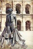 Coliseo romano - Nimes, Francia imágenes de archivo libres de regalías