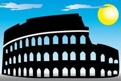 Coliseu de Roma ilustração do vetor