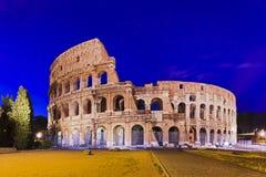 Coliseu de Roma 01 elevações Foto de Stock Royalty Free