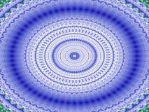 Coliseu no azul ilustração royalty free