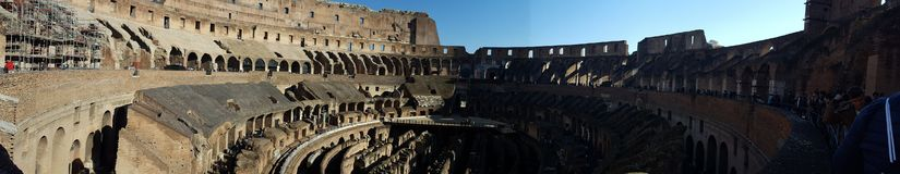 Coliseum της Ρώμης, ιστορική gladiators θέση, στοκ φωτογραφίες με δικαίωμα ελεύθερης χρήσης