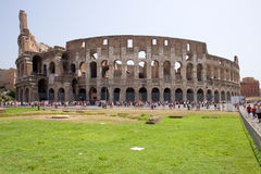 Coliseum. The Coliseum in the italy Royalty Free Stock Photos