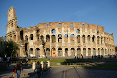 Coliseum. View of ruins of coliseum Royalty Free Stock Photos