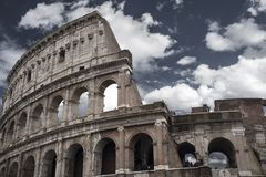 coliseum fotografie stock libere da diritti