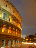 The Coliseum. The roman coliseum at night with a long exposure Royalty Free Stock Images
