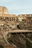 Coliseum. View of the interior coliseum in roma Royalty Free Stock Photo