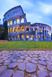 Coliseum. The Coliseum (or Colosseum) in Rome, Italy by night Royalty Free Stock Image