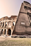 coliseum Arkivfoto