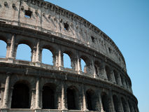 Coliseum. Architectural structure in Rome since the Roman Empire Royalty Free Stock Photo