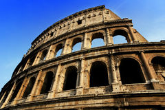 Coliseum. Remains of ancient coliseum in Rome Royalty Free Stock Photo
