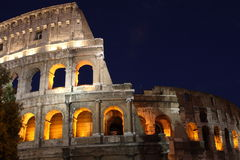 Coliseum. Evening view of Coliseum in Rome Stock Photography