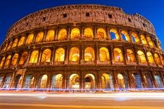 Coliseum Amphitheater, Rome, Italy. Stock Photo