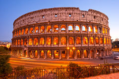 Coliseum Amphitheater, Rome, Italy. Royalty Free Stock Photo