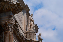 The Coliseum amphitheatre in Rome Italy Stock Photos