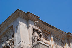 The Coliseum amphitheatre in Rome Italy Royalty Free Stock Image