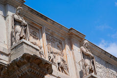 The Coliseum amphitheatre in Rome Italy Royalty Free Stock Images