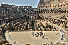 Coliseum. Ancient Roman coliseum amphitheater called Royalty Free Stock Image