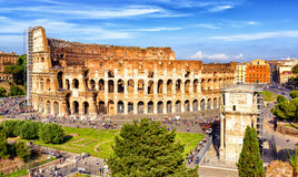 Coliseum (Colosseum) in Rome Royalty Free Stock Images
