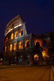 Coliseum at dawn, Rome, Italy Royalty Free Stock Photo