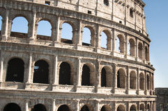 Coliseum during the day Stock Photos
