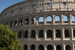 Coliseum during the day Royalty Free Stock Photos