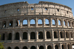 Coliseum during the day Stock Image