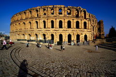 Coliseum of el jem Royalty Free Stock Photo