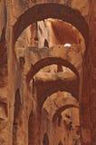 Coliseum in El Jem Stock Photo